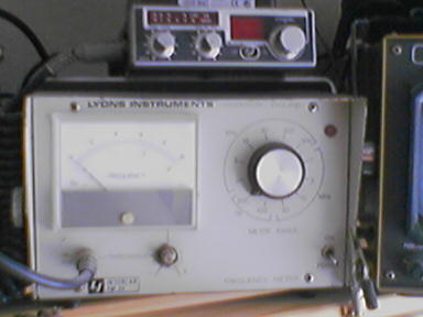 Frequency Meter da LYons Instruments + Bode
