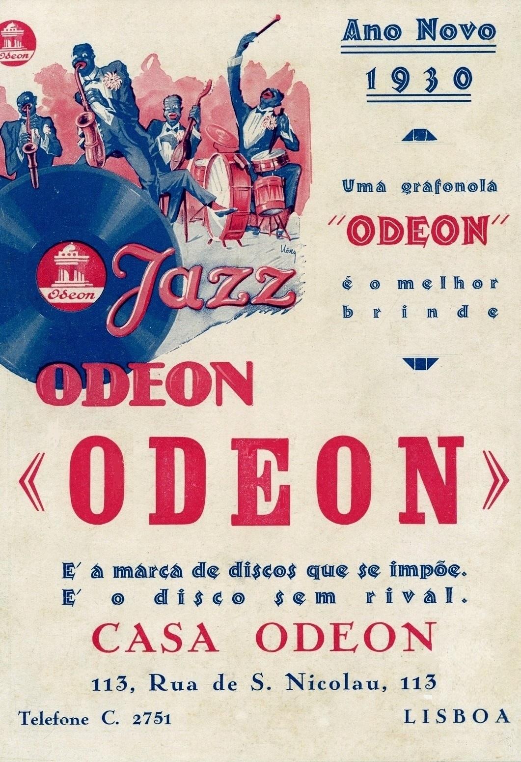 Publicidade Casa Odeon