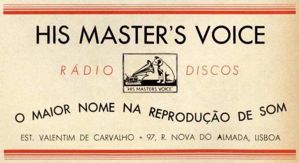 Publicidade Estabelecimento Valentim de Carvalho