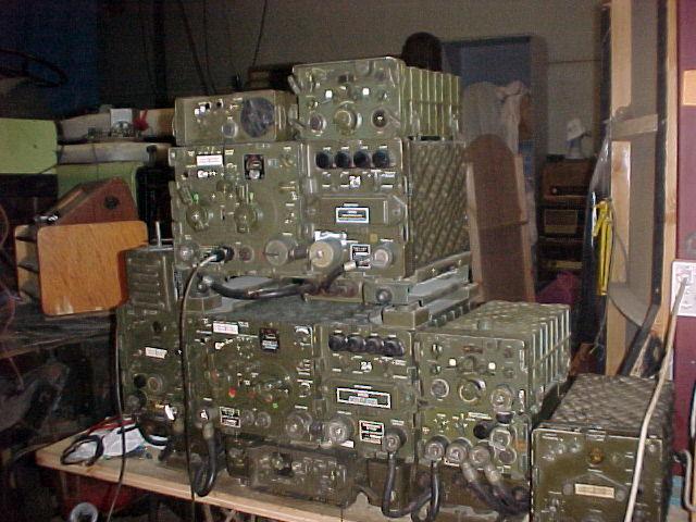 Vários equipamentos