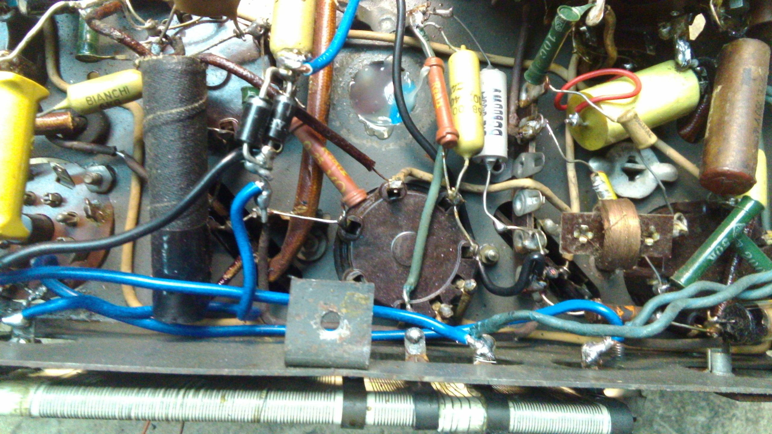 AEG Super 421 GW de 1941 componentes