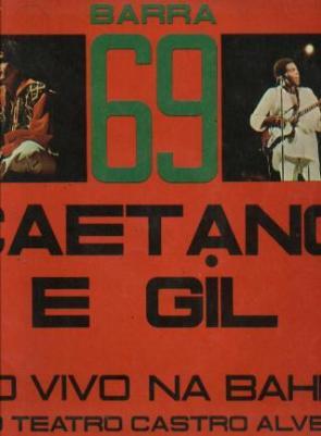 Capa do album de Caetano Veloso e Gilberto Gil