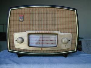 Foto de um rádio de José Duarte