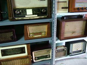 Alguns rádios da sua coleção