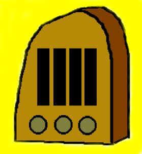 Desenho de um receptor de galena