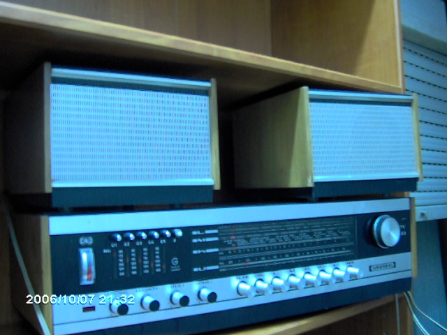 Grundig RTV 380 outro detalhe