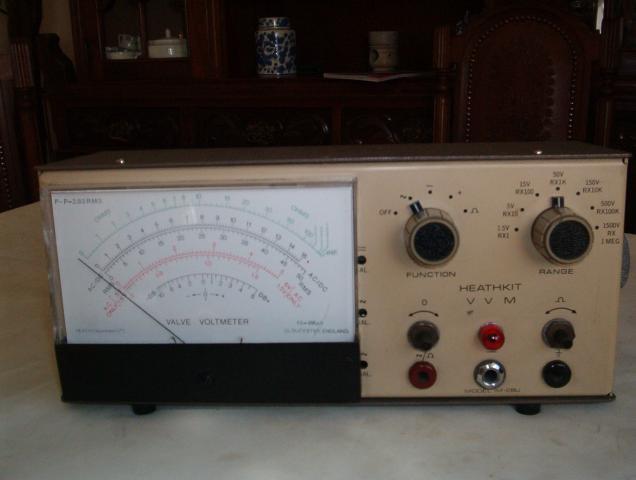 HEATHKIT IM-28U Valve voltmeter