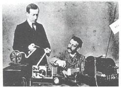 Demonstração de rádio feita por Marconi