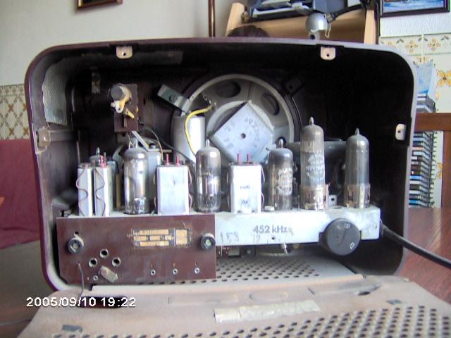 Mediator Type MD152OU pormenor das válvulas