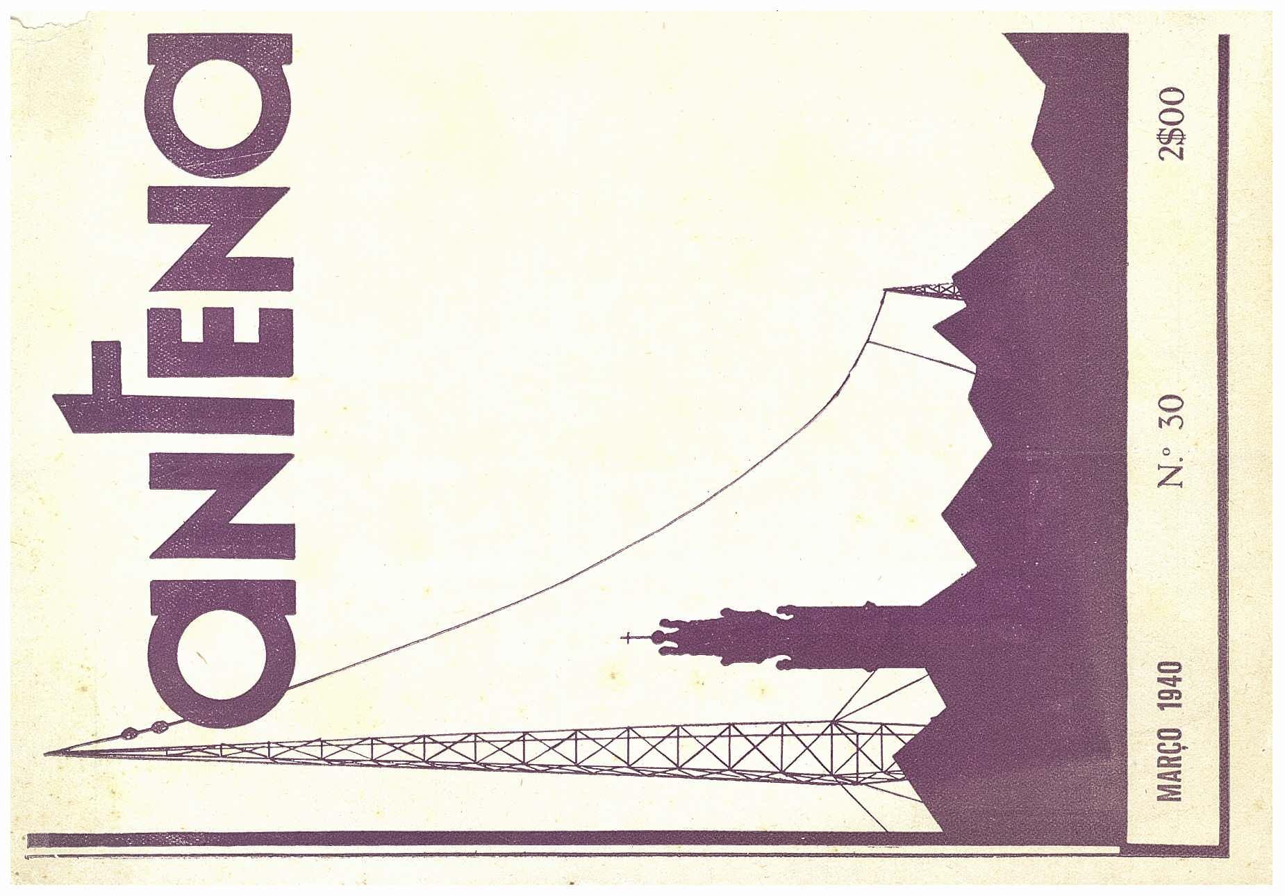 Capa da revista Antena, nº30