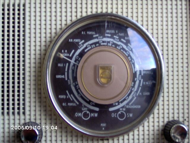 Philips Type B2LN67/62 dial