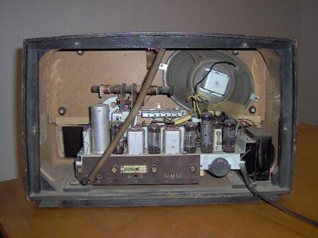 Philips Type B3X64A/72 visto por trás