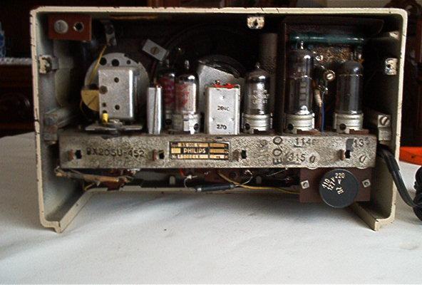 Philips BX205U visto por trás