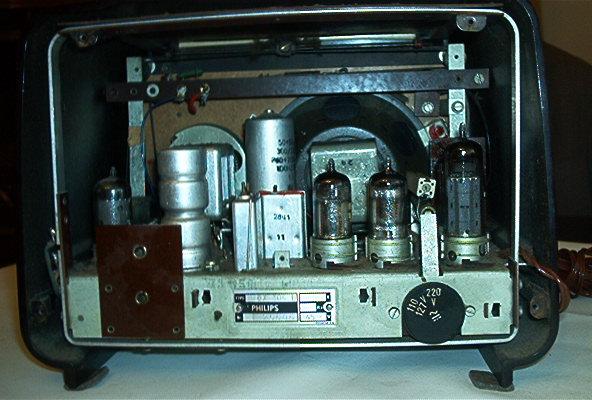 Philips BX305U visto por trás