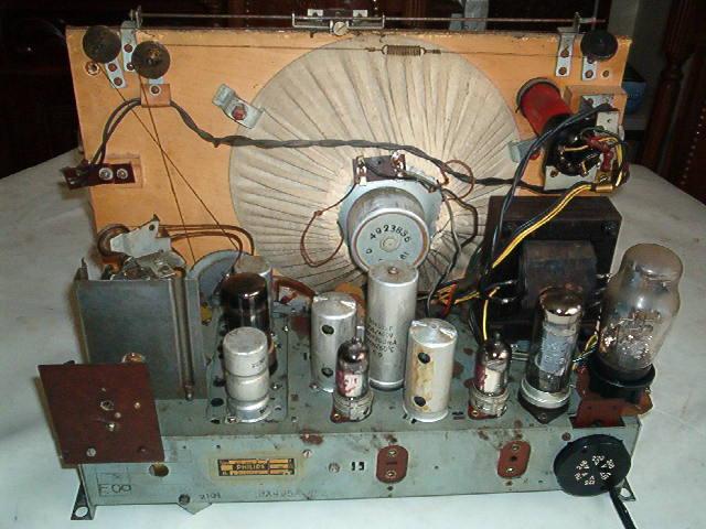 Philips BX495A visto por trás