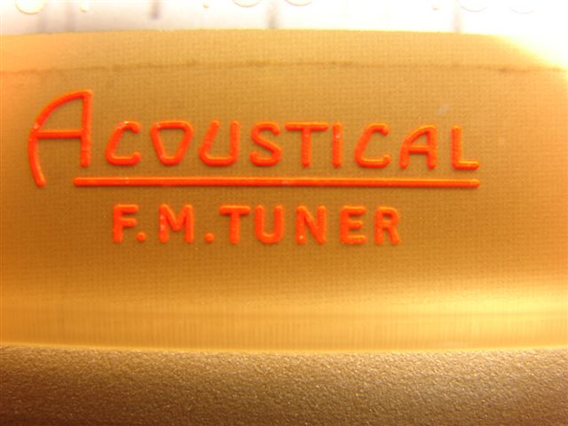 FM TUNER FMii detalhe da marca