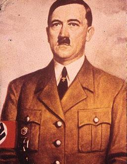 Outra foto de Hitler