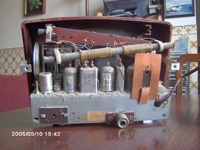 Radiola Type RA177A outro pormenor