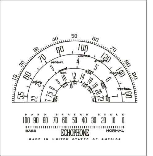 Ecophone EC112, 194? detalhe