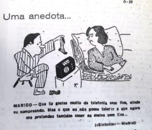 Caricatura que coloca em desigualdade o homem e a mulher