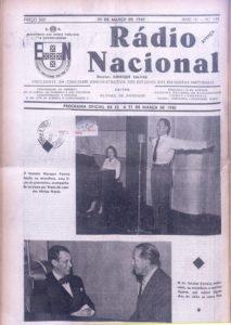 Publicação na revista Rádio Nacional