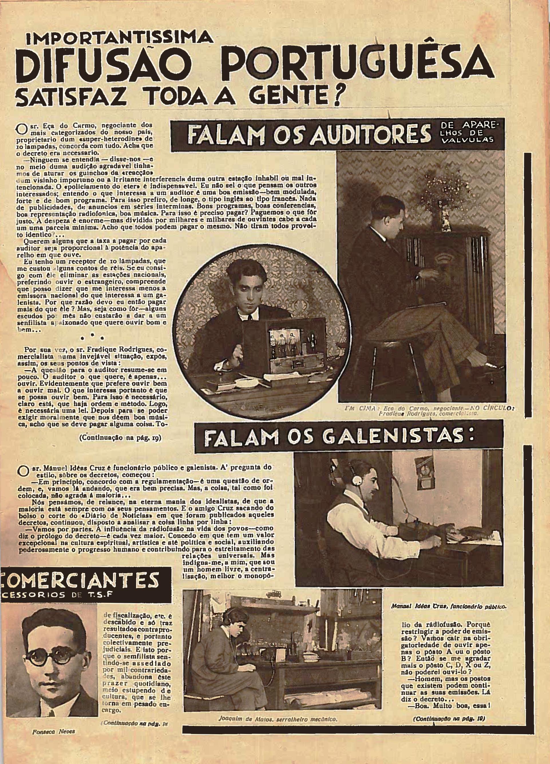 Outra foto do nº28 de maio de 1933 do Diário Ilustrado