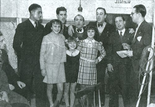 Grupo de profissionais da Rádio Renascença