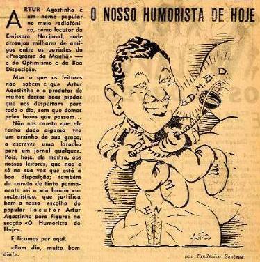 Artur Agostinho, humorista