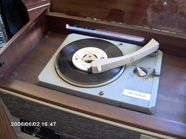 Siemens Elettra RF6954 gira-discos