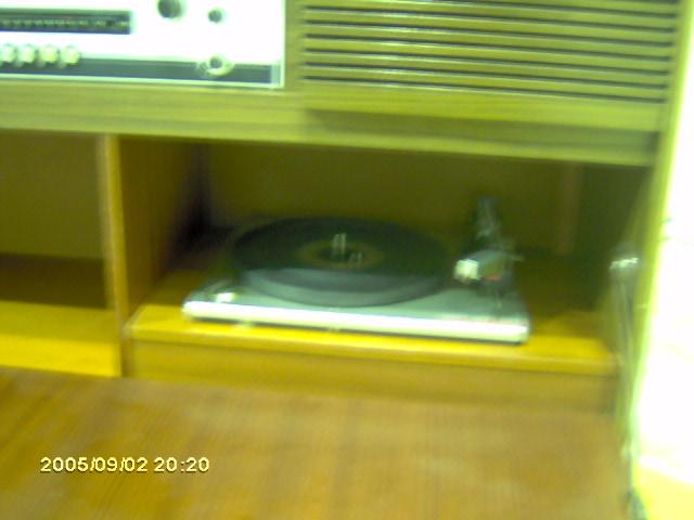 Telefunken Sonata gira-discos