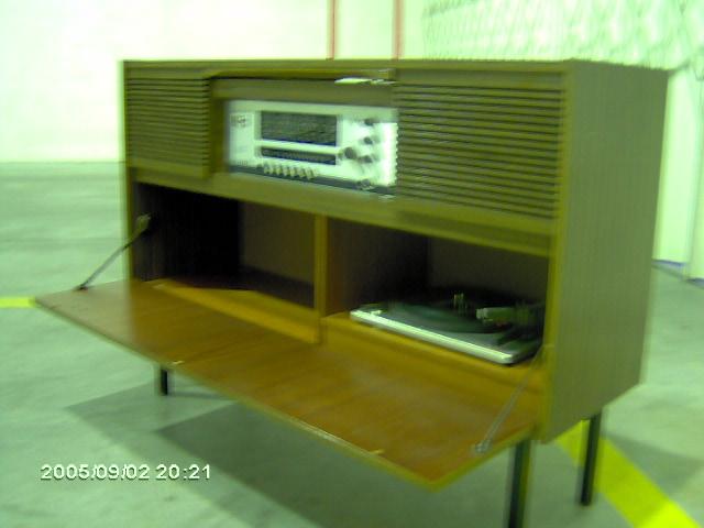 Telefunken Sonata móvel de lado