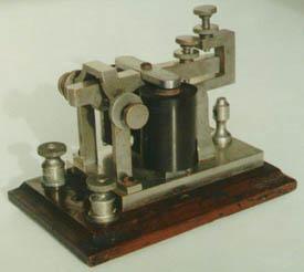 Antigo recetor de telegrafia