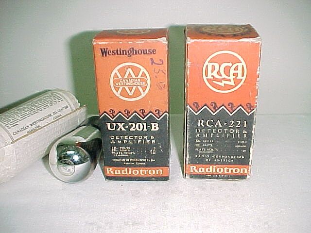 UX-201B by Westinghouse and RCA-221
