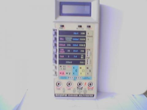 SCOPE DVM-838 Multitester