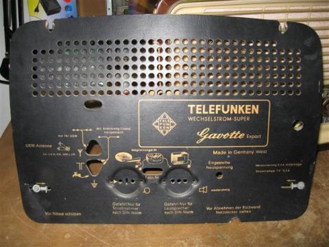 Telefunken Gavotte 1955