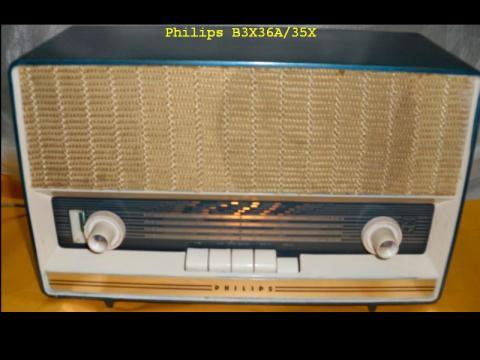 Philips B3X36A/35X