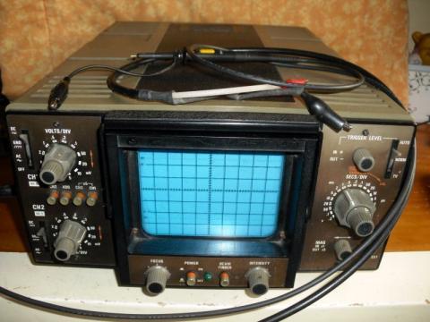 Oficina: Osciloscópio Telequipment
