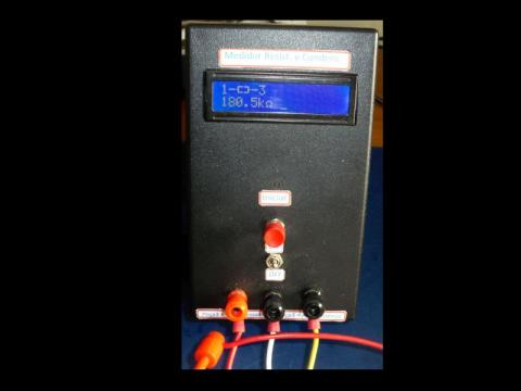 Oficina: Medidor de Resistências/condensadores