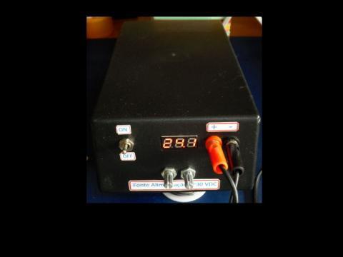 Oficina: Fonte de Alimentação 0~30VDC