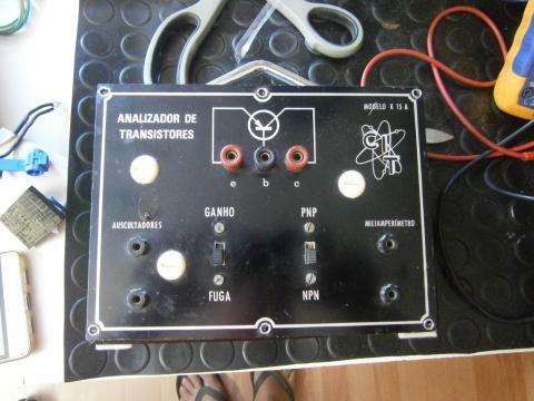 Analisador de Transístores K15A 1975/1976