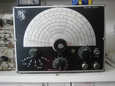Oscilador K24 Modelo GS2 1975/1976