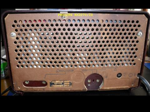 Outra foto do rádio