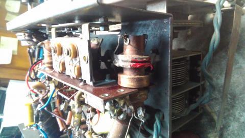 AEG Super 421 GW de 1941 detalhe bobina