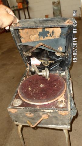 Gramofone inglês, 1926 foi um trabalhão!