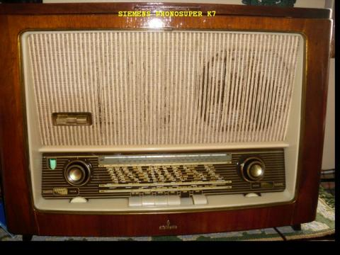 Rádio SIEMENS Phonosuper K7