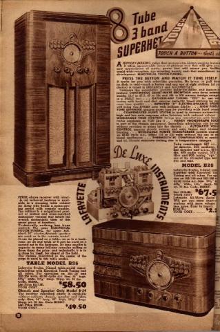 Lafayette Catalog nº69, pag 18