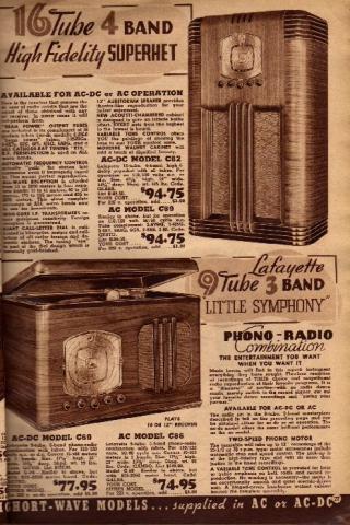 Lafayette Catalog nº69, pag 27
