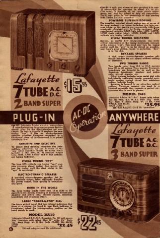 Lafayette Catalog nº69, pag 4
