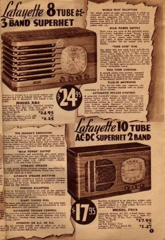 Lafayette Catalog nº69, pag 7