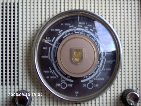 Philips Type B2LN67/62 dial